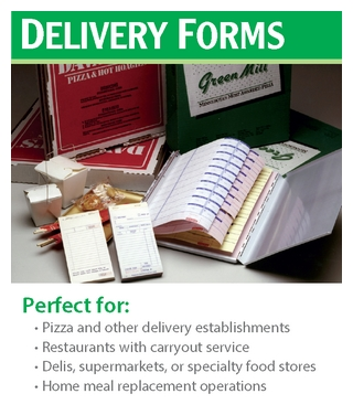 delivery forms, tickets National Checking Company PICO forms
