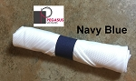 Navy Blue restaurant napkin bands to wrap with linen napkins- 20,000 1.5