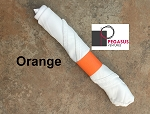 Orange restaurant napkin bands to wrap with linen napkins- 20,000  1.5