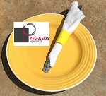 Bright Yellow restaurant napkin bands to wrap with paper napkins- 2,000 1.5