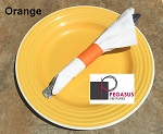 Orange restaurant napkin bands to wrap with paper napkins- 2,000  1.5