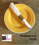 Pearlescent Gold restaurant napkin bands to wrap with paper napkins- 20,000 1.5