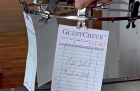 Pegasus Ventures distributes National Checking Restaurant Guest Checks
