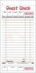 501SP Asian themed Medium Single Copy Cardboard Guest Checks, 18 Lines, 1 Part, Pink National Checking Company