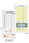 700 - 2 part Pegasus Ventures brand Carbon-less Restaurant Guest Checks