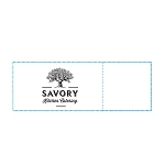 Savory Kitchen Catering Custom Printed Restaurant Napkin Bands