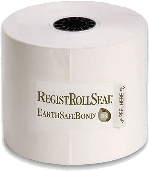 1225-130 Cash Register/POS paper rolls 2.25 Inch Wide Bond Paper White 1 ply 130' RegistRolls® brand