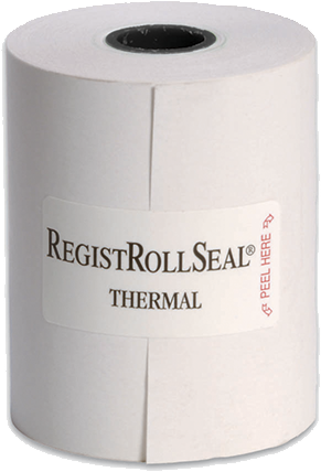 "7225-80SP REGISTER ROLL 2.25"" THERM WHITE 1PLY 80'"