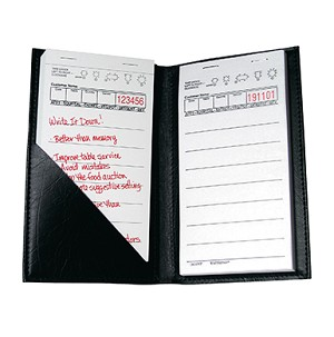 AL-400 Medium Wide Restaurant Guest Checks Holder