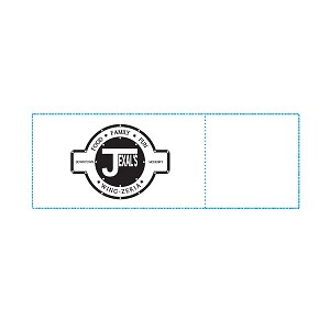 Jexel's Wing Zeria Custom Printed Restaurant Napkin Bands McHenry, Illinois
