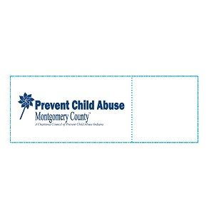 Montgomery County Youth Service Bureau Napkin Bands Custom Printed Restaurant Napkin Bands